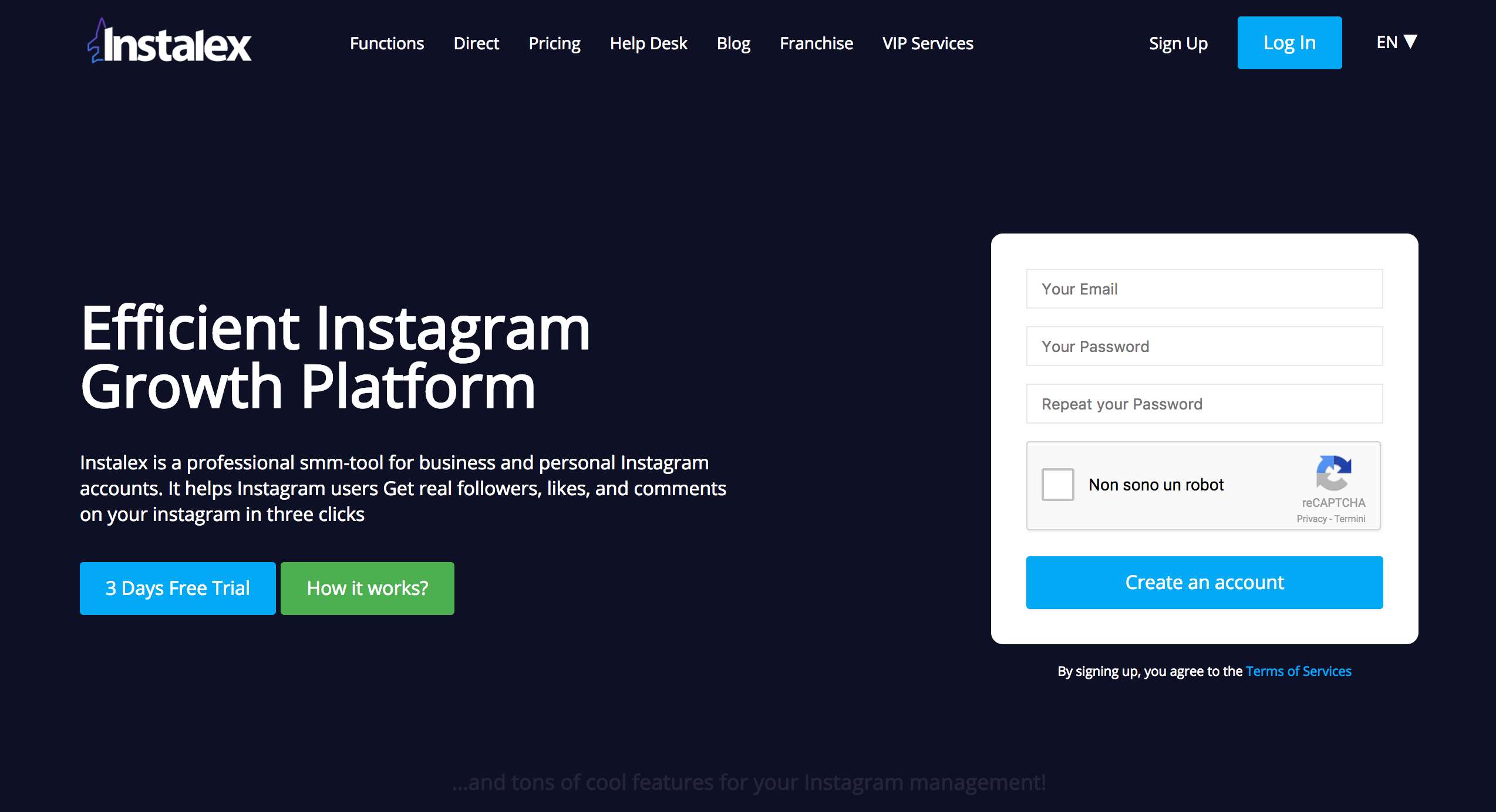 Alternative a Instagress - I migliori Bot per Instagram del