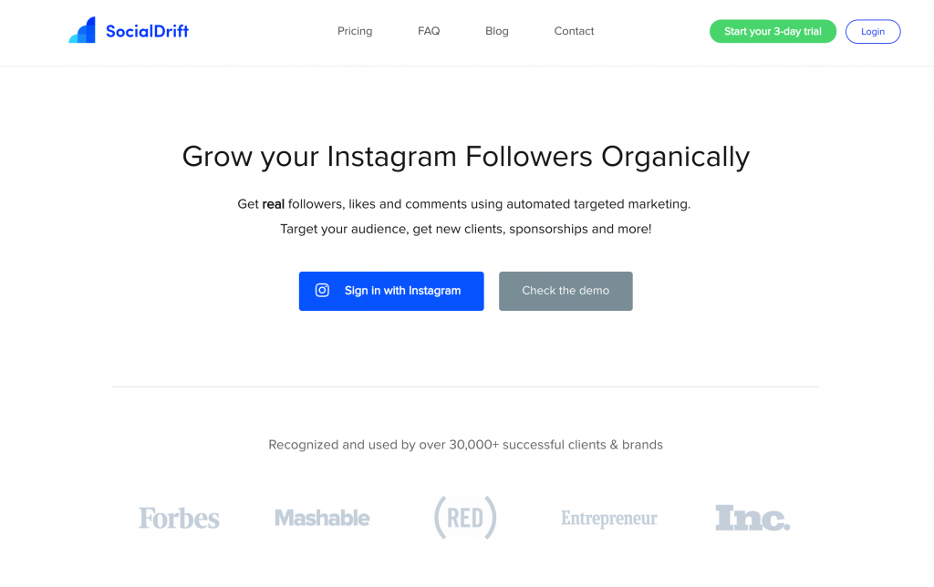 social drift miglior bot per instagram